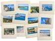 Diapositives de Corse, Bonifacio, Bastia, Piana ...