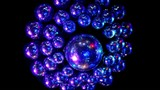 discoballs light is reflected from surface of sphere