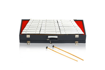 Thai steel dulcimer musical instrument