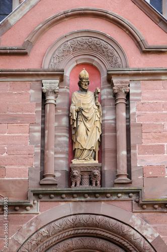 Alsace, the chapel Saint Leon 9 in Eguisheim