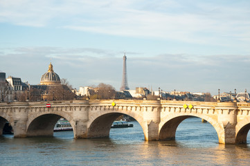 The Pont Neuf. Paris, France.