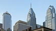 Skyline of downtown Philadelphia