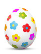 Kugel, Osterei, Ei, Hühnerei, Blumen, Frühling, Muster, Farben
