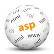 Kugel, ASP, Active Server Pages, Server, Client, Sprache, Web