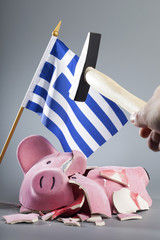 Robbing Greek piggy bank