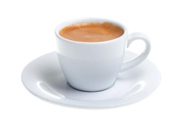 Espresso isoliert freigestellt