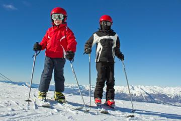 Jeunes skieurs (8-10 ans)