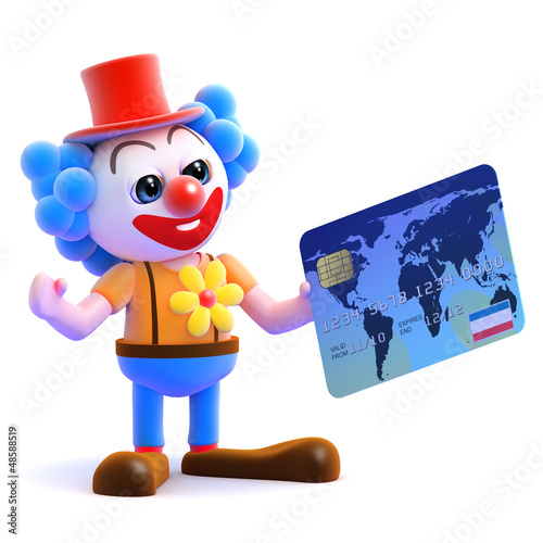 Clown is spending again with his credit card