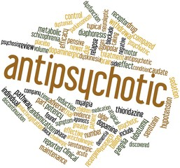 Word cloud for Antipsychotic