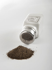 Pepper Shaker and Pile