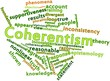 Word cloud for Coherentism