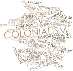 Word cloud for Colonialism