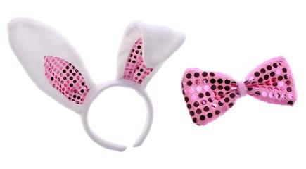 Bunny ears and bow
