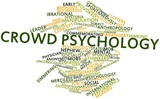 Word cloud for Crowd psychology