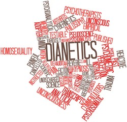 Word cloud for Dianetics