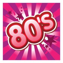 80, eighties, années 80, années quatre-vingt, retro