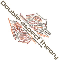 Word cloud for Double-aspect theory