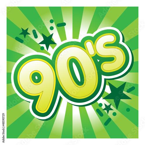 90, nineties, années90, années quatre-vingt-dix,