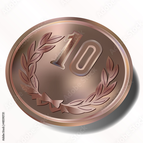10円 十円 銅 コイン 硬貨