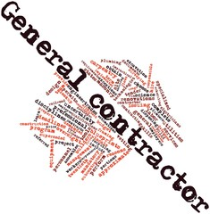 Word cloud for General contractor