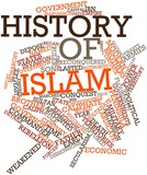 Word cloud for History of Islam