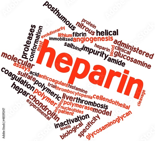 Word cloud for Heparin