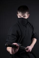 Ninja - spy, saboteur, stealth assassin of feudal Japan.