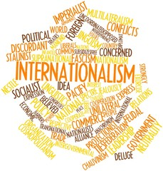 Word cloud for Internationalism