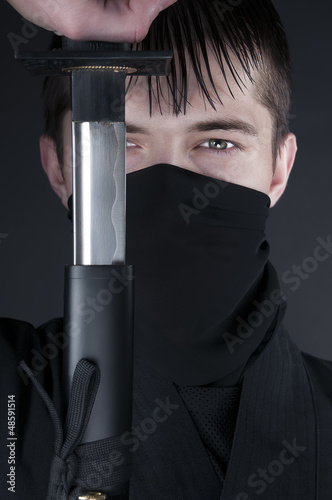 Ninja - spy, saboteur, stealth assassin of feudal Japan.