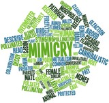 Word cloud for Mimicry