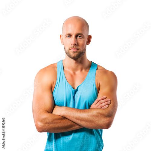 muskulöser Sportler