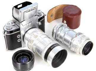 Spiegelreflexkamera, Objektivköcher, Telekonverter