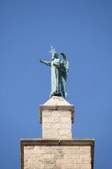Saint Gabriel Archangel statue