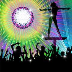 Psychedelic Discotheque Dance Party-Festa Psichedelica Discoteca