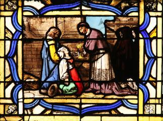 St Charles Borromeo, St Germain-l'Auxerrois church, Paris