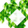 Green modern geometric design template