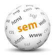 Kugel, SEM, Search Engine Marketing, Webdesign, Website, web, 3D