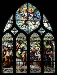 John the Baptist his mother, Elizabeth, Jesus and Holy Kinship
