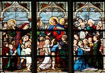 Jesus, Friend of Little Children, St Severin church, Paris