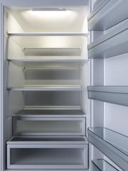 Empty Refrigerator.