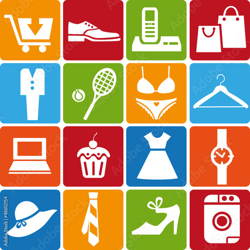 shopping_icons_set