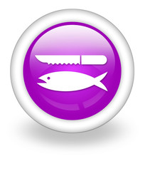 "Violet Icon ""Fish Cleaning"""