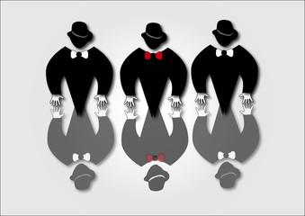 3 black man