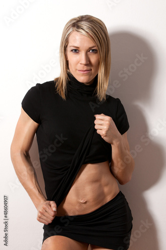 Young attractive fit woman