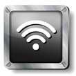 steel wi fi icon