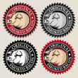 Original Smoked Bacon Seal / Mark
