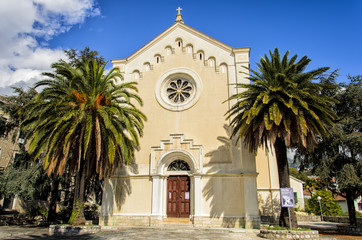 St. Jerome church in Herceg Novi, Montenegro