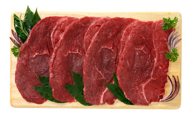 Bistecche di carne di cavallo - Steaks of horse meat