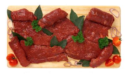 Fettine di carne di cavallo - Slices of horse meat
