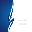 Greek left side brochure cover vector
